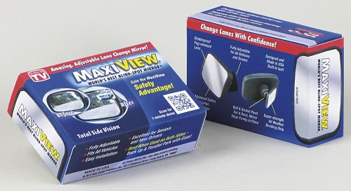 Blogger Opportunity: MaxiView Blind Spot Mirrors Giveaway Sign Ups End January 9th at 6 AM
