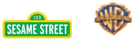 #WBHE #SesameStreet Warner Bros and Sesame Street Logos