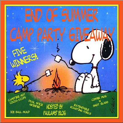 End of Summer Camp Party #Giveaway Ends 10/11 #summer #campfire