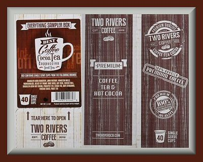 Win! 40 Ct Box of Two Rivers #Coffee K-Cups in the A Bit Of Everything #Giveaway #BBRCoffee