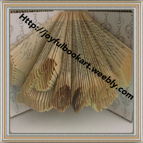 Folded Book Art by Joyful Book Art