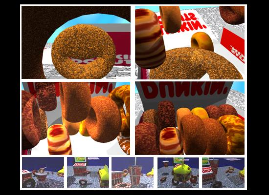 #2 Dancing Donuts
