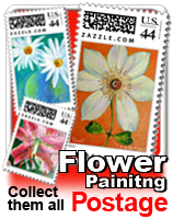 Flower Painting Postage collection