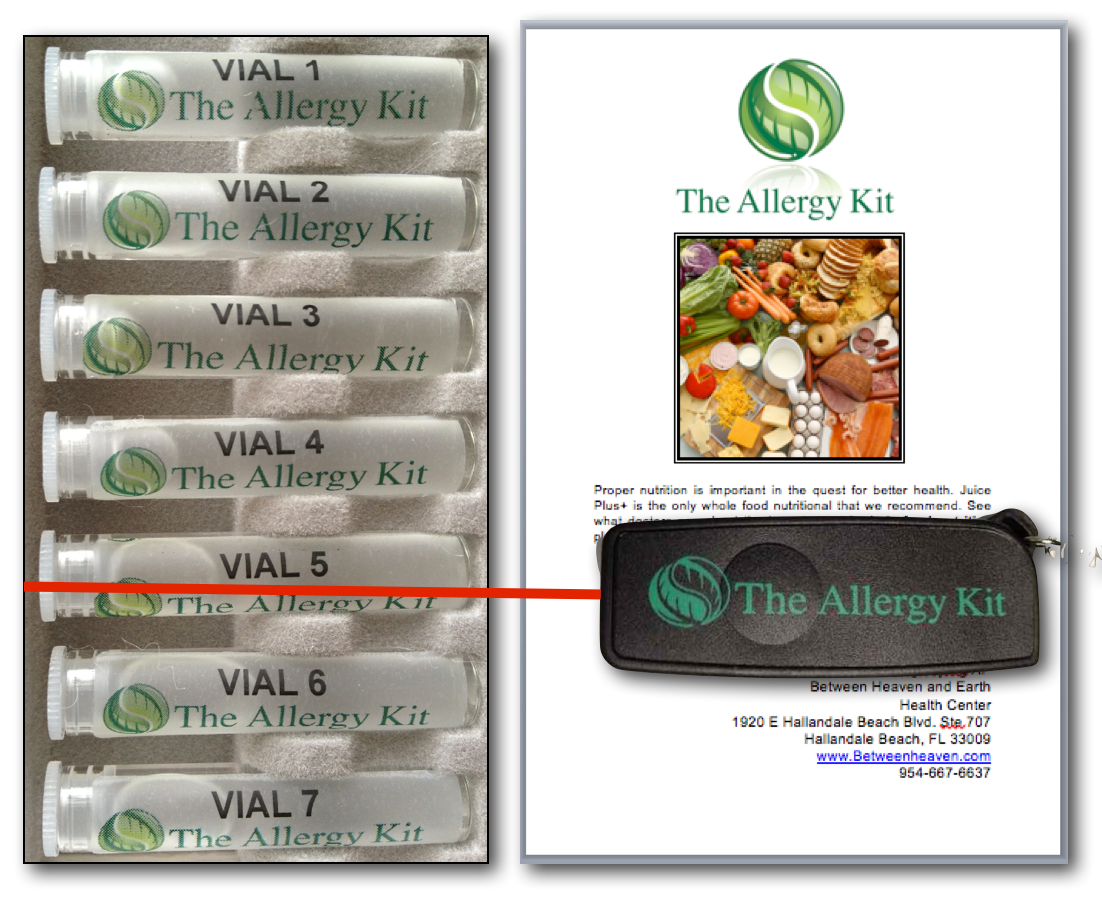 The Allergy Kit Natural Allergy Treatment