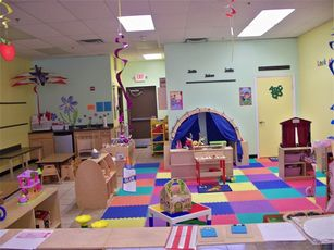 Preschool room at Tiny Tots