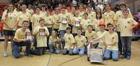 2015 GEARS, Inc. Robotics Team at War Eagle BEST