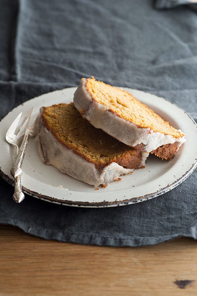 Recipes and Tips for Thanksgiving on the Road: Sweet potato pound cake via Design Sponge | Scotch and Nonsense
