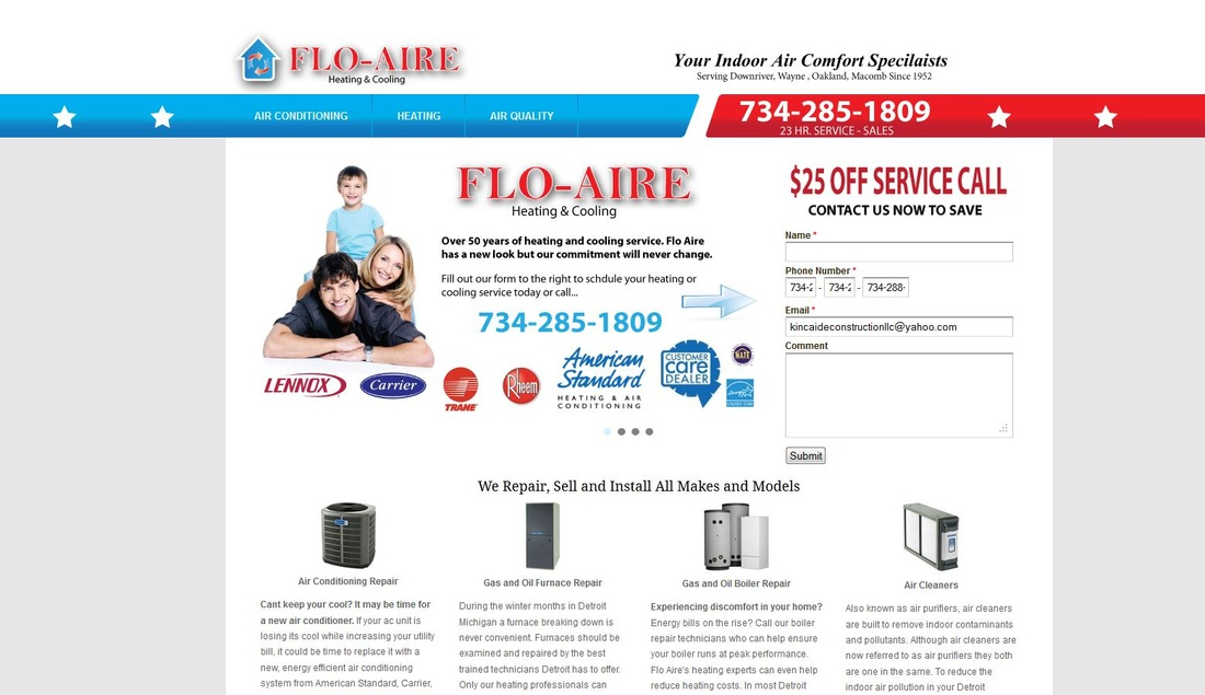 air conditioning repair company in southgate michigan