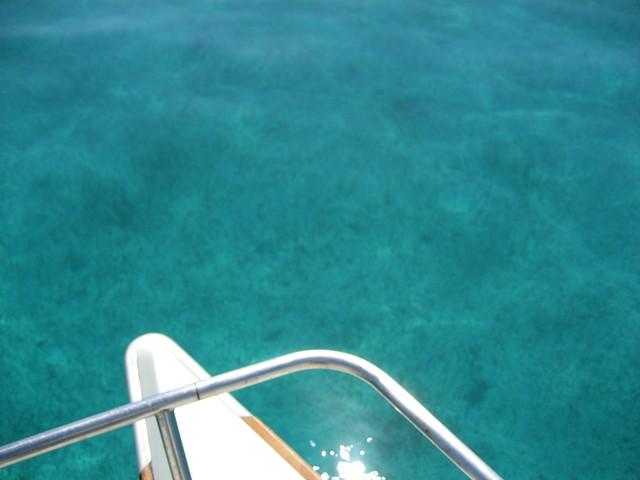 Crystal Clear Blue Water of Grand Bahama Bank