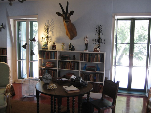 Hemingway's writing place