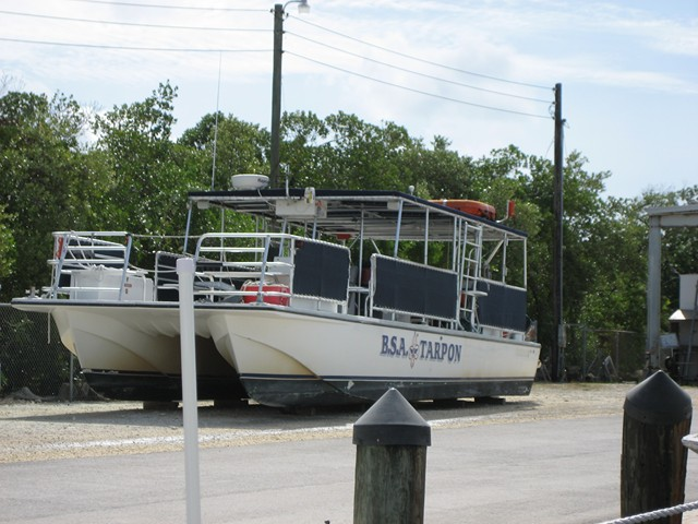 BSA Sea Base Boat