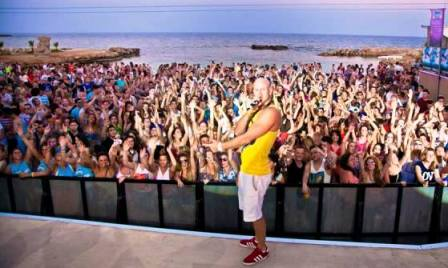 Ayia Napa beach parties
