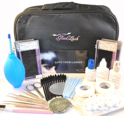 Glad Lash Luxe Eyelash Extension Kit