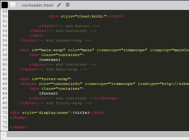 HTML and CSS Code Editor in Weebly.