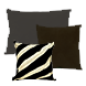 Exotic Fur Pillows and Cushions for Sale