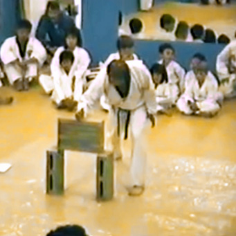 Master Chen Board Breaking Demo -  1987
