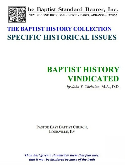 A History of the Baptist