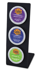 3 hole K Cup Display for Hotel Guest Room Coffee