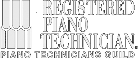 Registered piano tuner technician with the Piano Technicians Guild