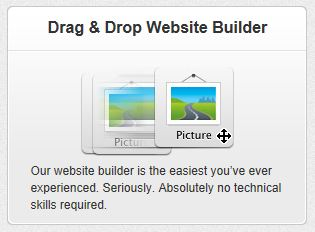 Drag & Drop Website Builder