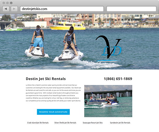 Destin Jet Ski Website