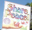 Share Peace poster