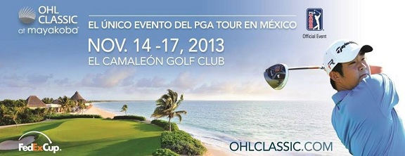 Time To Tee Off PGA OHL Mayakoba Classic Golf Tournament, November 2013