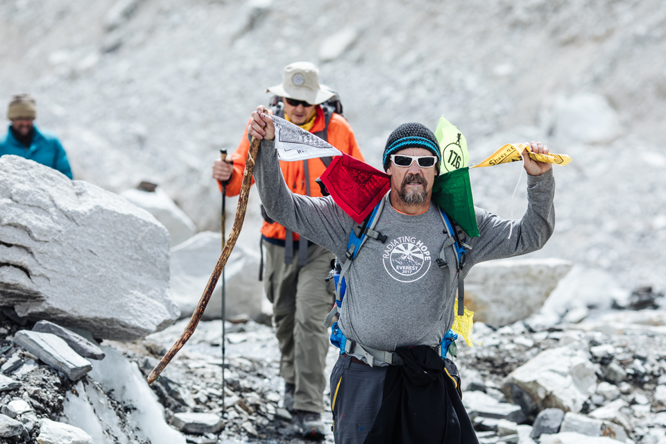 Don Flint on the 2017 Everest Base Camp Trek