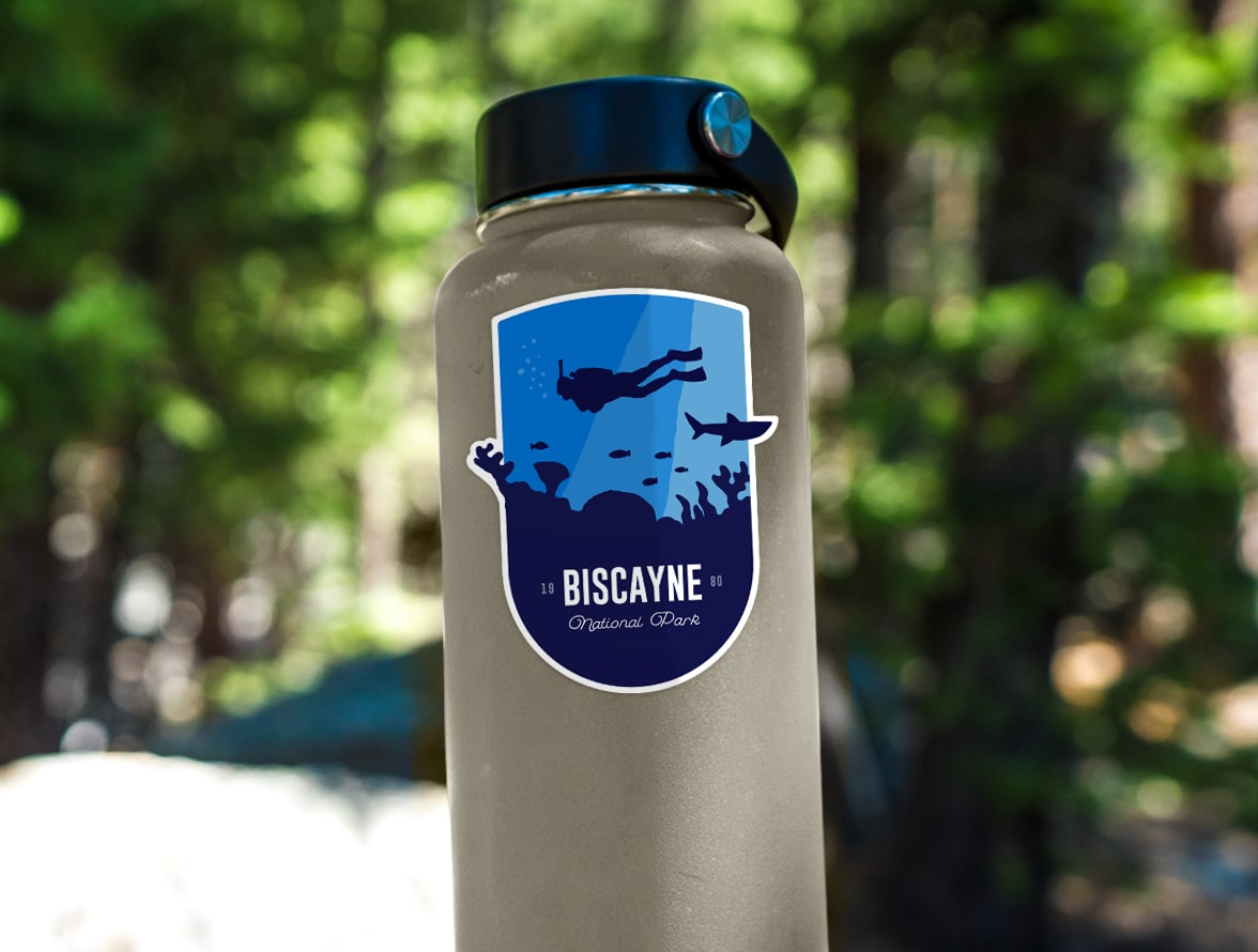 Biscayne National Park (Coral Reef) Sticker