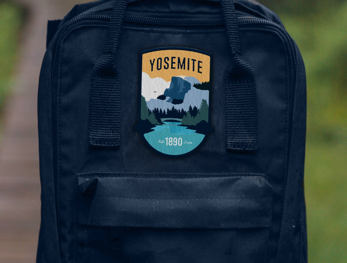Yosemite Patch (Half Dome)