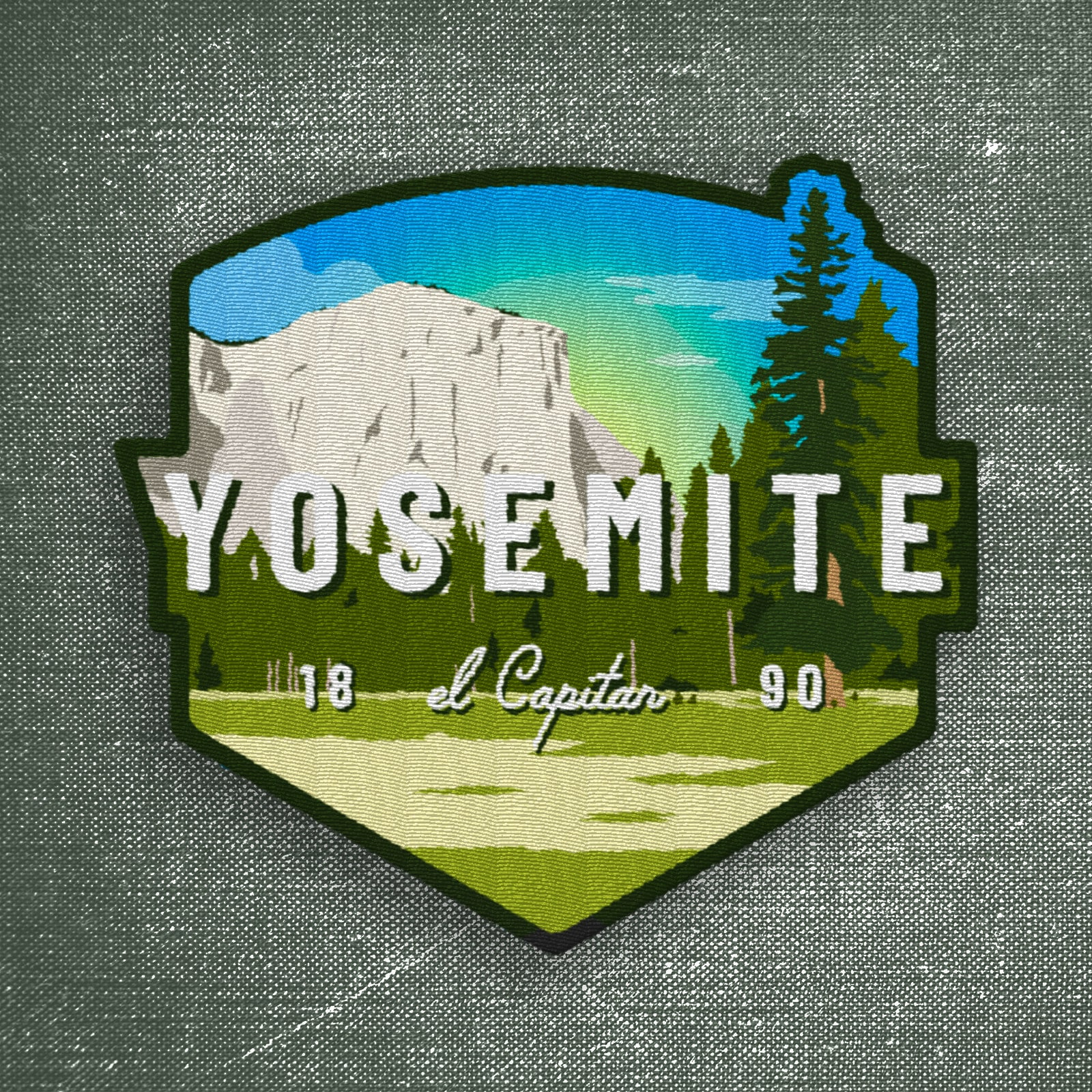 Yosemite Patch | El Capitan