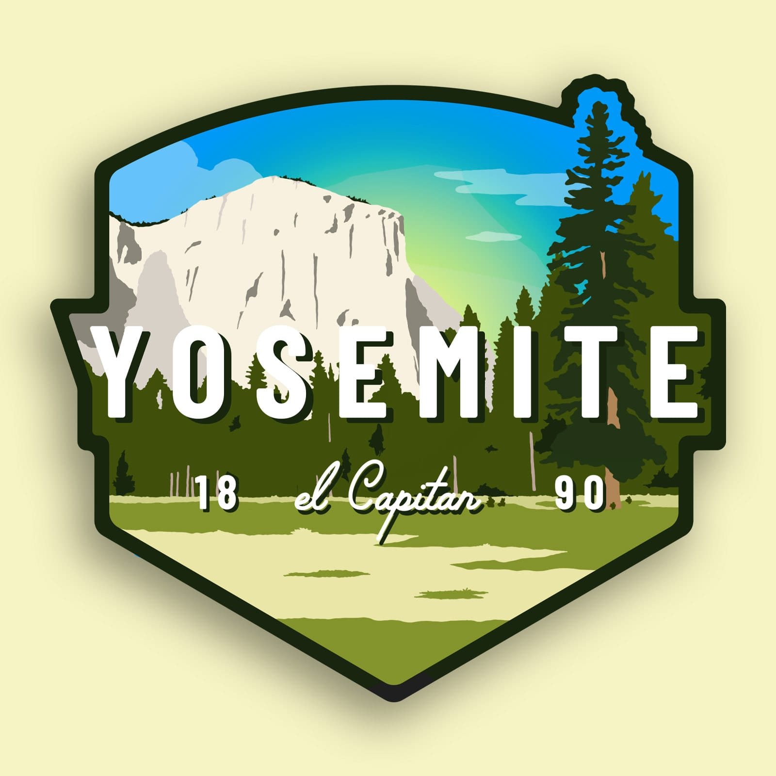 Yosemite Sticker | El Capitan