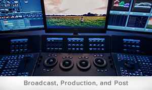 Broadcast, Production, and Post Calibration Software