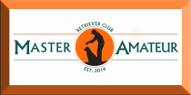 master amateur retriever club banner