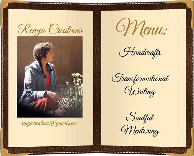 Renya Creations Menu