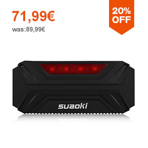 Suaoki T3 PLUS 18000mAh Booster Batterie