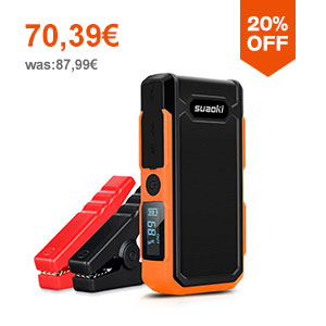 Suaoki U10 20000mAh Booster Batterie Orange