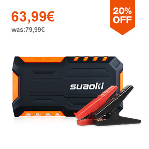 Suaoki G7 18000mAh Booster Batterie  Orange