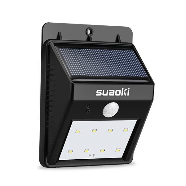 8 LED Solar Lights