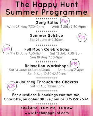 The Happy Hunt Summer Programme