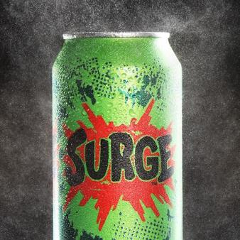 Surge Energy Drink Can