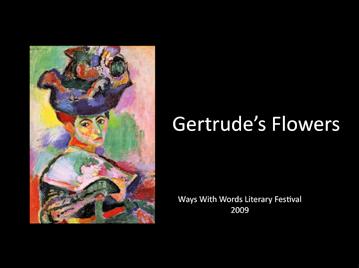 Gertrude's flowers