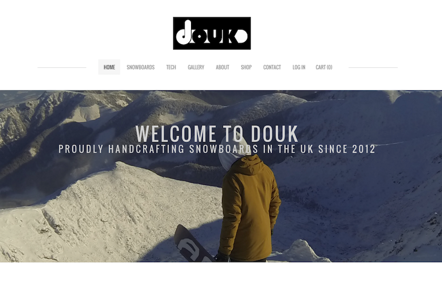 Douk Weebly Website