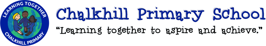 Chalkhill Primary School 'Learning Together' banner
