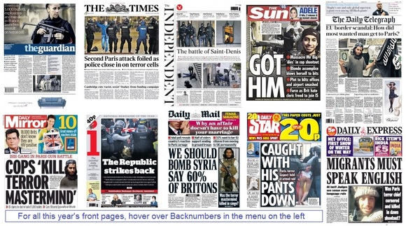 Front pages 19-11-15