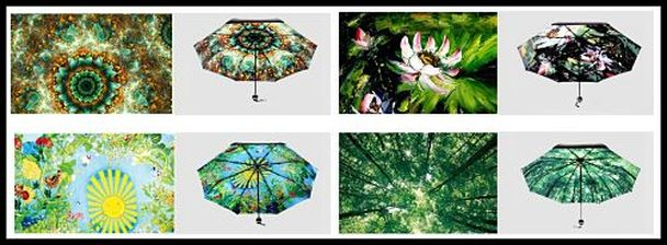 Encan Women Umbrella Comes In 4 Beautiful Prints