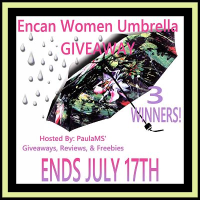 Enter the Encan Women Umbrella Giveaway. Ends 7/17.