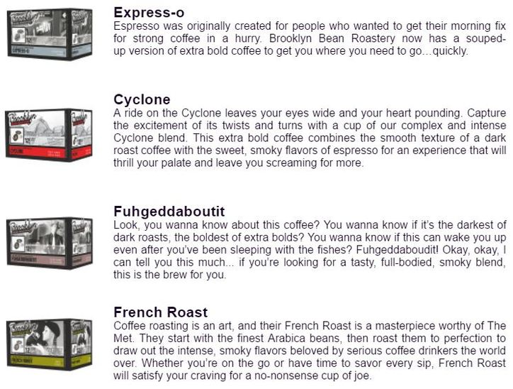 About the Brooklyn Bean Roastery Bold Coffee Variety Box
