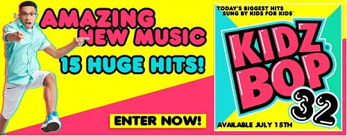 #Win a #KidzBop32 CD and you and your children can sing and dance away the summer! #Giveaway ends 8/7