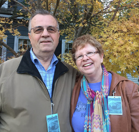 Photo of Carolyn and Jerry at Waterfowl Festival In Easton MD 2015
